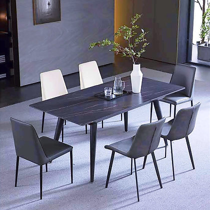 ONYX伸縮餐桌(岩板面)