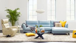 L 型沙發
