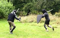Shield vs buckler