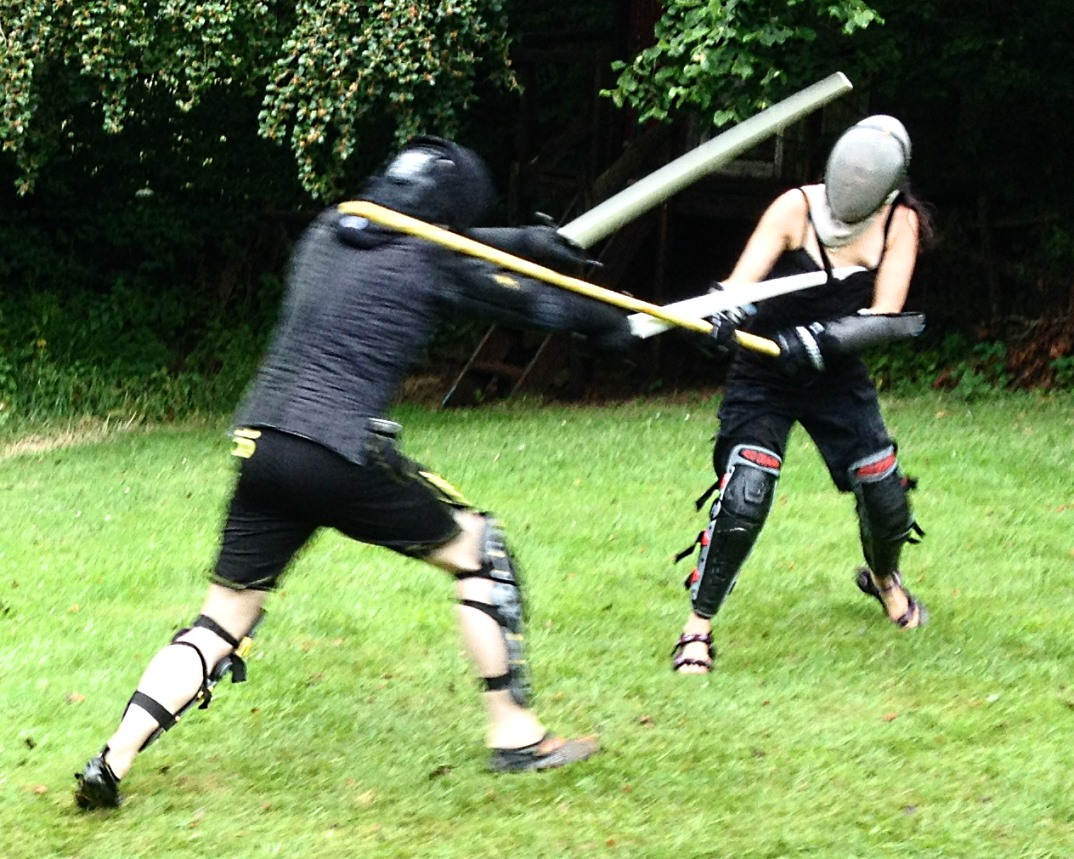 Staff vs Longsword