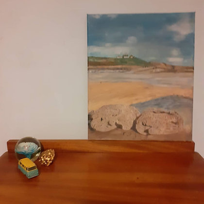 Oil painting of Southerndown Beach, Wales