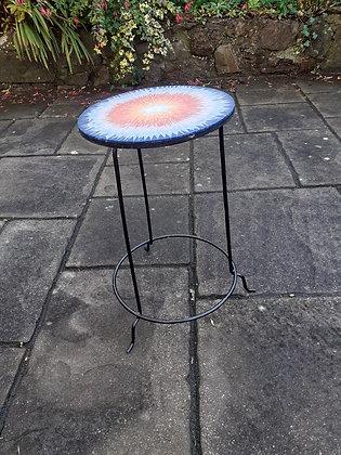Sunburst Mosaic Plant Stand
