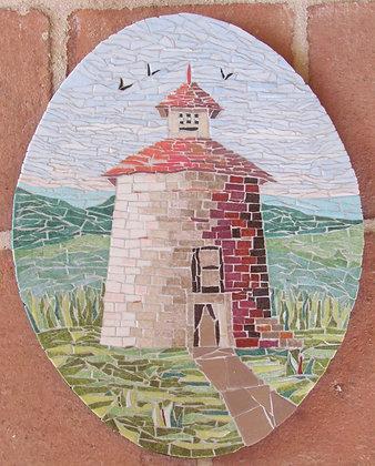 Dovecote #3 Mosaic Picture Panel