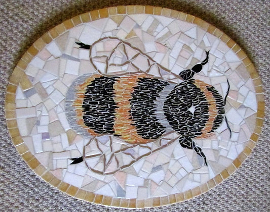Bee Mosaic Picture/Panel