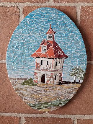 Dovecote #4 Mosaic Picture Panel