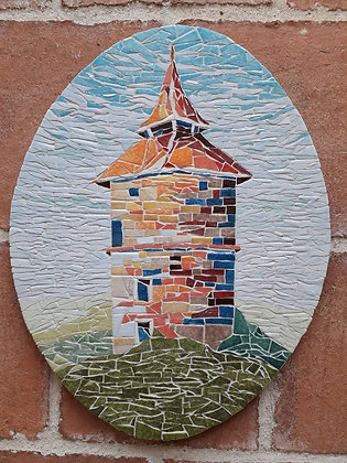 Dovecote #5 Mosaic Picture Panel