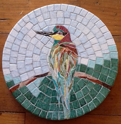 Bee Eater Mosaic Picture/Panel