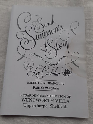 'Sarah Simpson's Story' Poetry Book