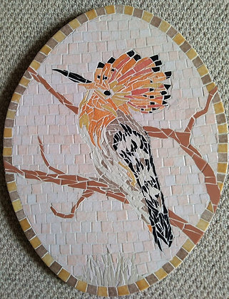 Hoopoe Mosaic Picture/Panel