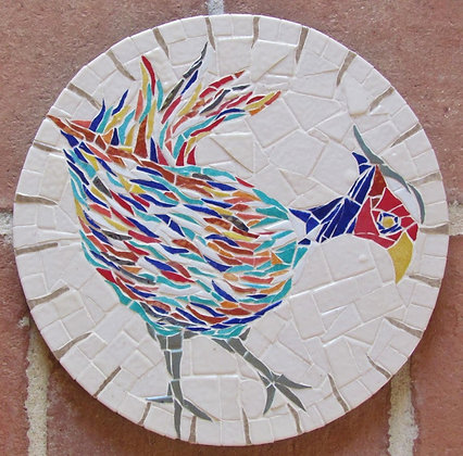 Pheasant Mosaic Picture/Panel