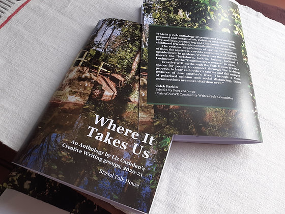 Where It Takes Us: An Anthology by Liz Cashdan's Creative Writing group, 2020-21
