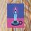 Thumbnail: Winter Candle Christmas Card