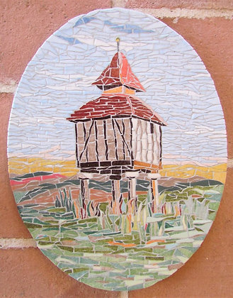 Dovecote #1 Mosaic Picture Panel