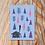 Thumbnail: Log Cabin Christmas Card