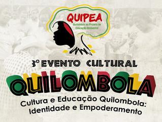 Terceiro Evento Cultural Quilombola do QUIPEA promete reunir 1500 pessoas no Espírito Santo