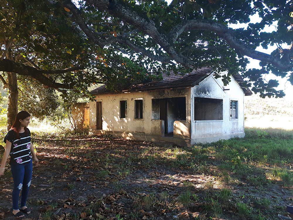 Reconhecimento de campo no Quilombo Graúna