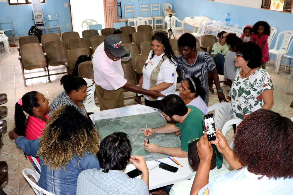 Oficina de Cartografia Social no Quilombo Botafogo