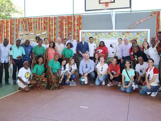 Líderes da área de Relações Externas da Shell visitam o Projeto Quipea na Comunidade Quilombola de B