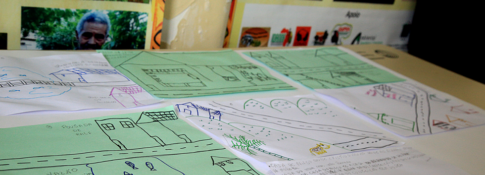 Oficina de Cartografia Social no Quilombo Aleluia