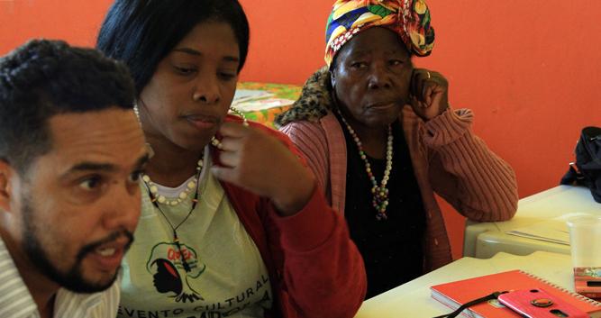 Oficina de Cartografia Social dos Quilombos Cacimbinha e Boa Esperança