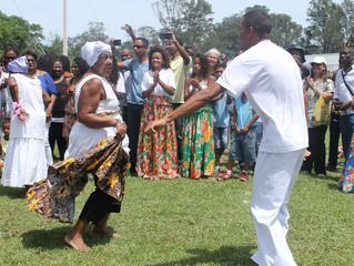 Comunidades do QUIPEA marcam presença na titulação deMarambaia