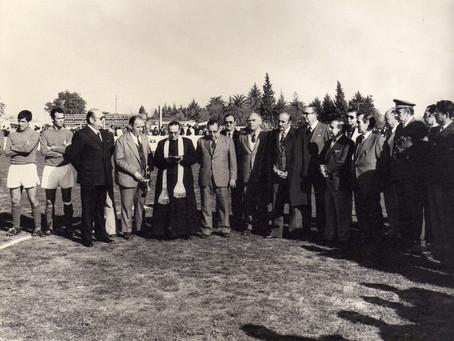 Inauguración campo fútbol de la Hijuela del Polo