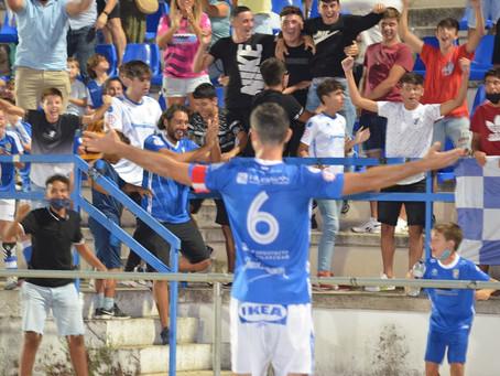 Xerez 1 - 0 Córdoba B. Alex Colorado apareció y salvó los puntos