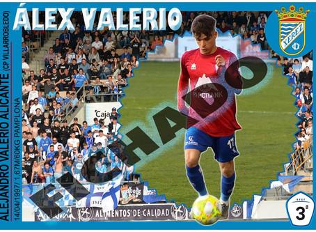 Alex Valerio nuevo jugador del Xerez C.D.