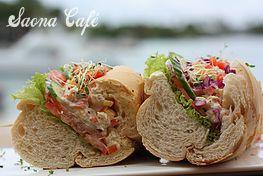 Saona Cafe seaside restaurant in Bayahibe Dominicain Republic!!!