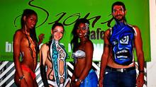 Body Painting at Saona Cafe