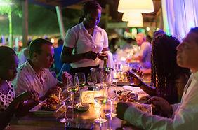 Saona Cafe Bayahibe seaside restaurant bar