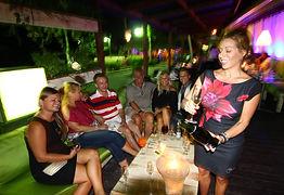 Saona Cafe Bayahibe seaside restaurant bar dominican republic