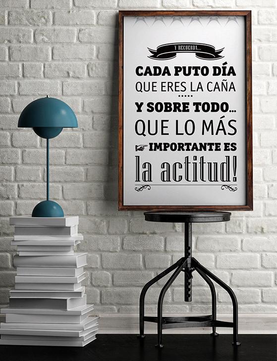¡lo más importante es la actitud!