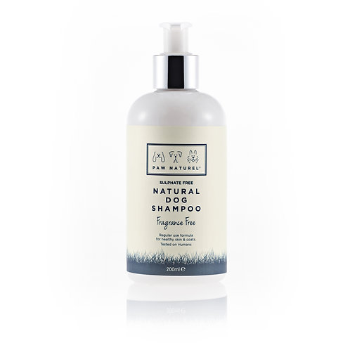 Fragrance Free Natural Shampoo by Paw Naturel
