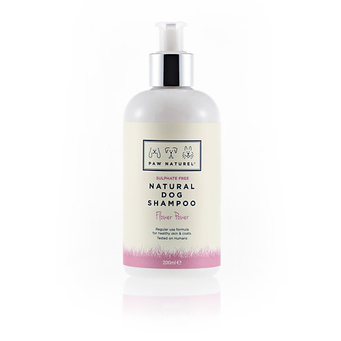 Flower Power Natural Shampoo 200ml by Paw Naturel