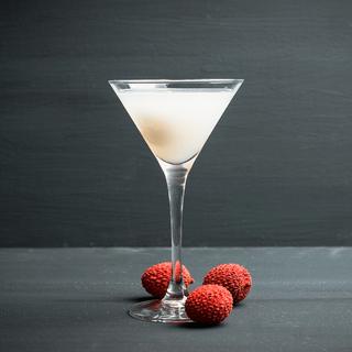 Pisco Lychee Martini