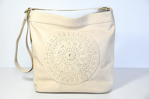 Cream Mandala Bag