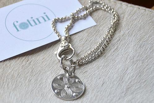 Infinity Disc Bracelet