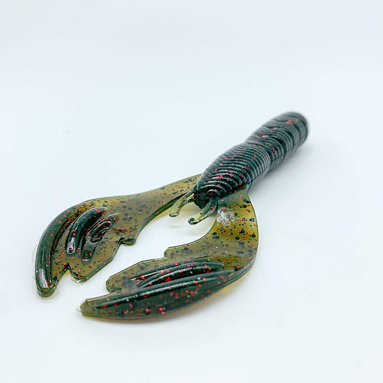 """3.75"""" Punch Craw (Watermelon Red)"""