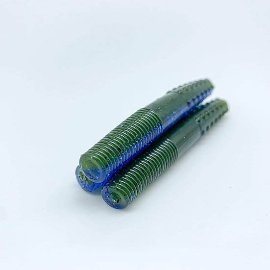 "2.75"" MidWest Finesse Worm (Okeechobee Craw)"
