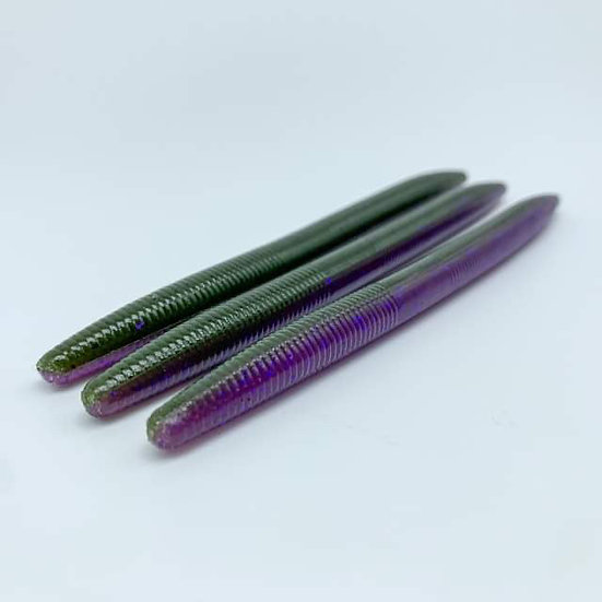 "5"" Stick Bait (Watermelon-Purp"