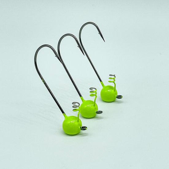 Shaky Head Jig (Chartreuse)