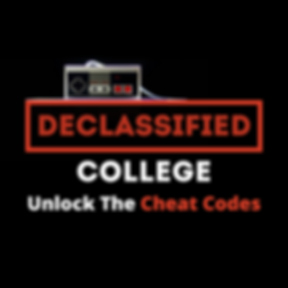 Declassified College Podcast Cover Art (