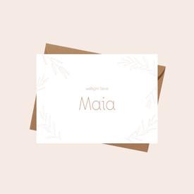 Geboortekaartje Maia
