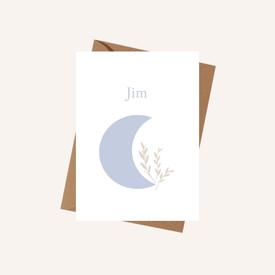 Geboortekaartje Jim