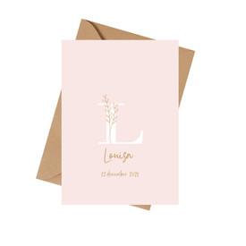Geboortekaartje Louisa