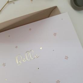 Geboortekaarte Belle