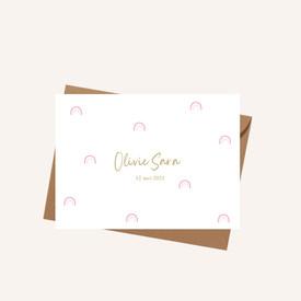Geboortekaartje Olivie