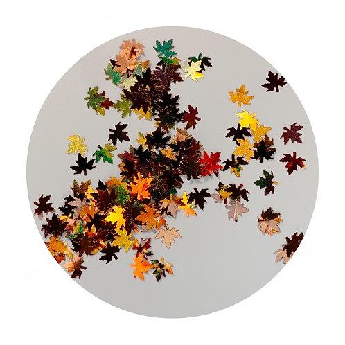 Autumn Iridescent Leaves