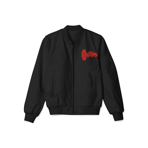 Black with Red Logo